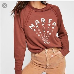 Mate the label marfa Texas sweater
